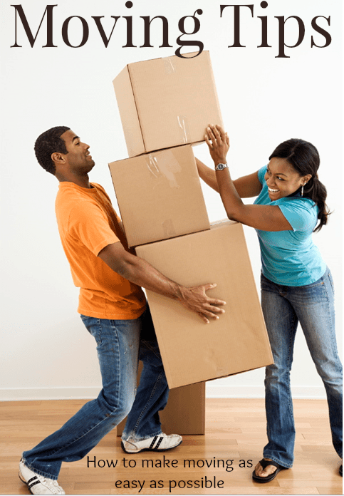 Top 10 Moving tips and tricks to make moving as easy as possible.