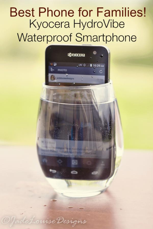Best Waterproof Phone for Families! Kyocera Hydro Vibe waterproof 4G LTE smartphone #SprintMom