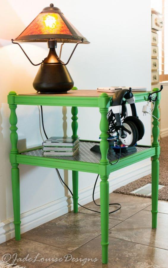 DIY Furniture Makeover; DIY Side Table Makeover