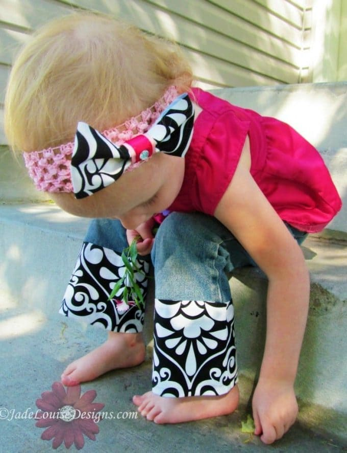 Clothing Alterations How to Lengthen Pants No Sewing required #Mompact