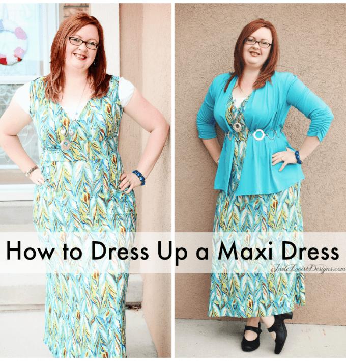 How to Dress up a Maxi Dress with Karina Dresses