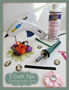 5 Craft Tips that make your craft project easier