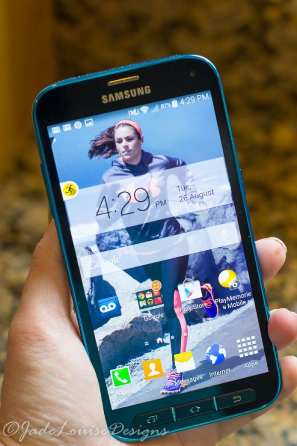 Samsung Galaxy S5 Sport - Perfect phone for the fit and health inspired