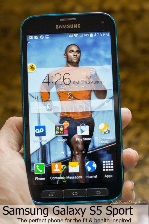 Samsung Galaxy S5 Sport Perfect phone for the fit and health inspired
