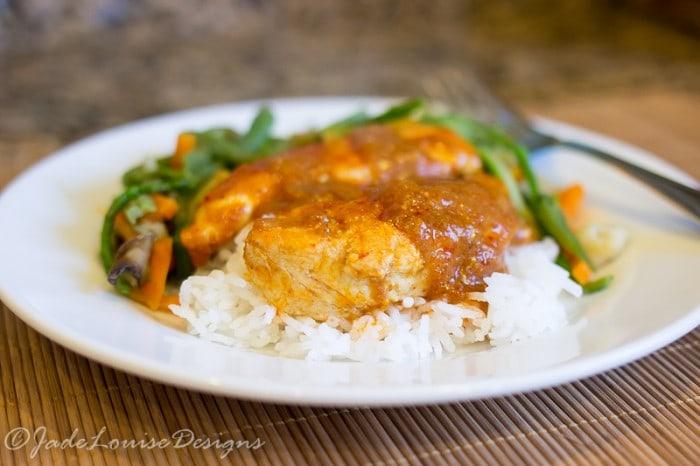 Amazing WorldFoods Thai Chicken Recipe