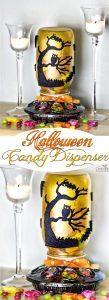 DIY Halloween Candy Dispenser