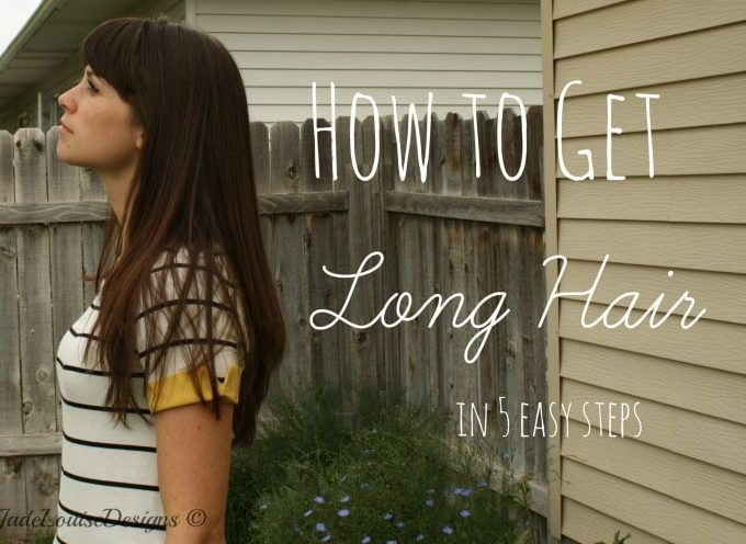 How to Get Long Hair in 5 Easy Steps