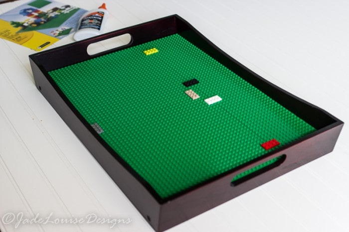 DIY Lego Tray play station; The Best Toys for Creating imagination!
