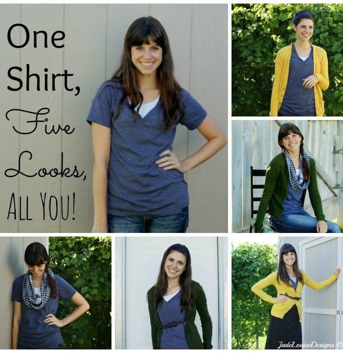 One Shirt, Five Looks, All You!