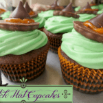 Halloween Cupcake Ideas, Witch Hat Cupcakes with Sweet Creations