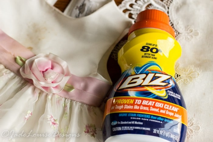 Best Stain fighter & How to combat the messy Kid stains! I'm taking the #BizChallenge