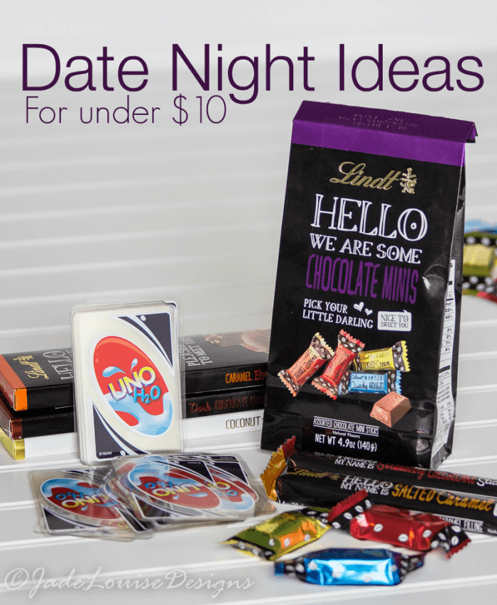 Date Night Ideas for under $10