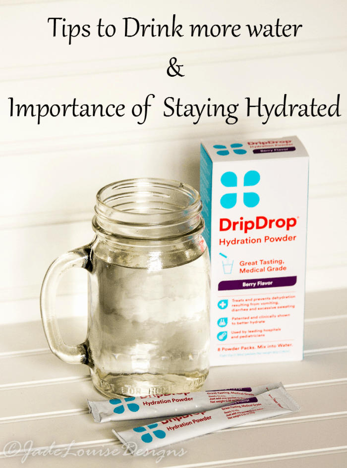 Tips to Drink more water, Staying Hydrated #DrinkDripDrop