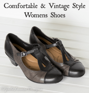 Comortable Vintage Style Womens Shoes with #EarthFootwear