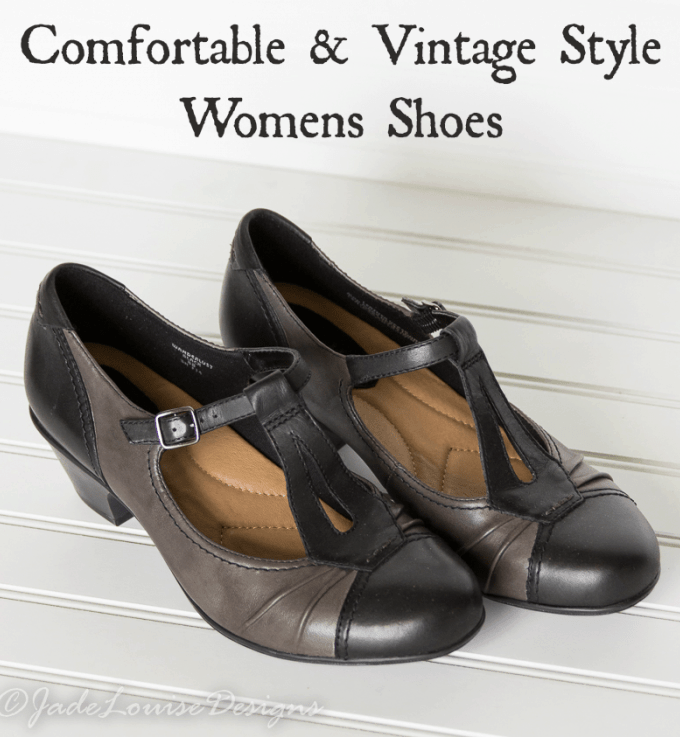 Comortable Vintage Style Womens Shoes with #EarthFootware
