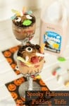 Easy Halloween Desserts - Spooky Pudding Cup Trifle with TruMoo