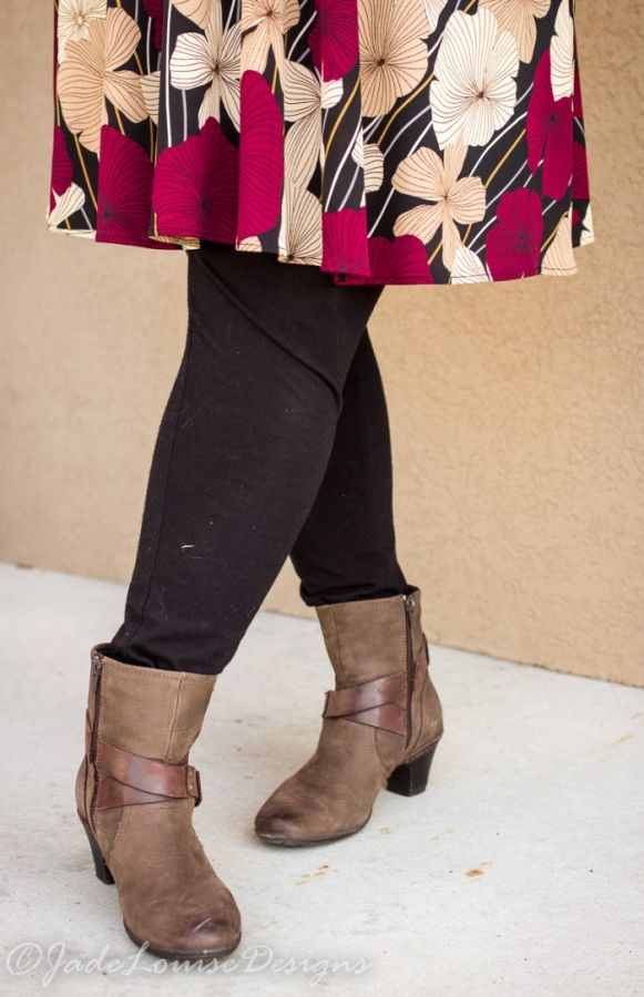 how to wear ankle boots if you have skinny legs