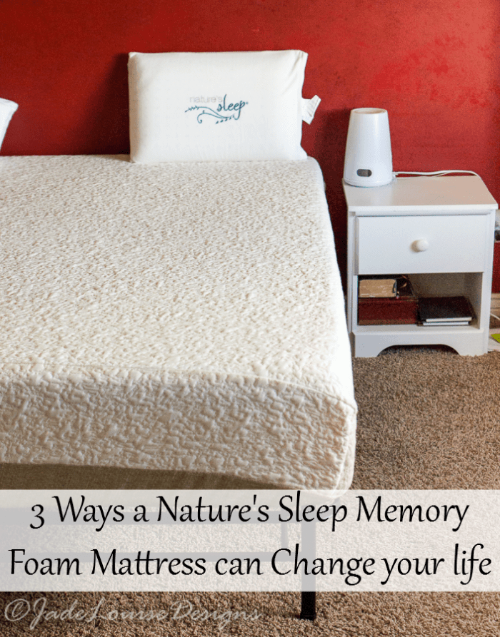 Nature S Sleep  Gel Memory Foam Mattress