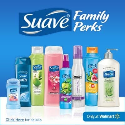 Suave Family Perks Program