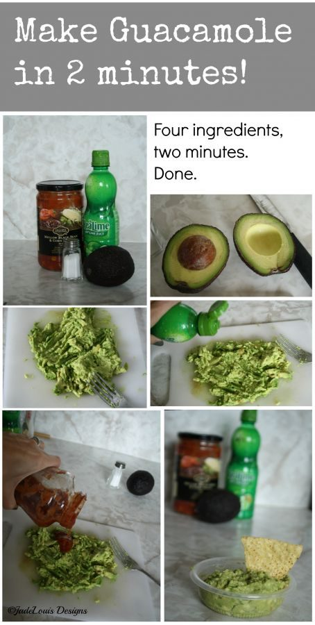Make Guacamole in 2 Minutes