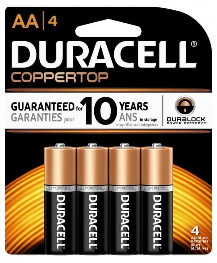 Power the Holidays with Duracell Don't forget the batteries Christmas Morning!