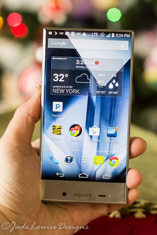 Sharp AQUOS Crystal The perfect blend between Home and business
