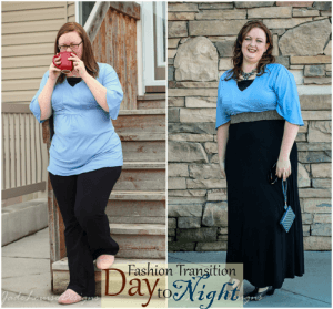 Day to Night Holiday Fashion Looks with Monroe and Main. #MMHolidayFashion