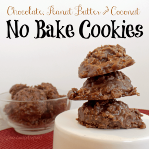 Easy No Bake Cookies, Chocolate peanut butter goodness |Cooking with Food Storage