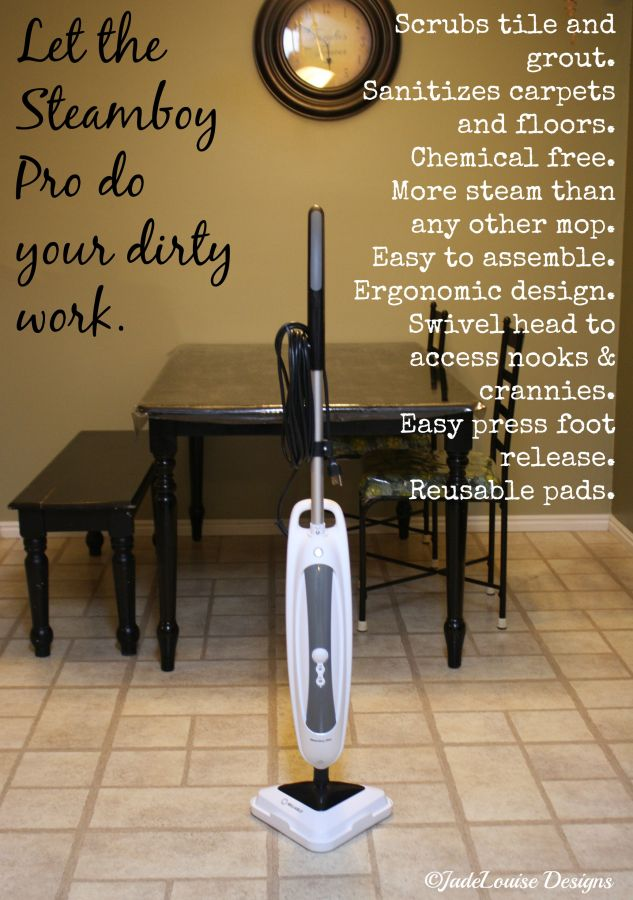 The Steamboy Pro does it all. Clean smarter, not harder.