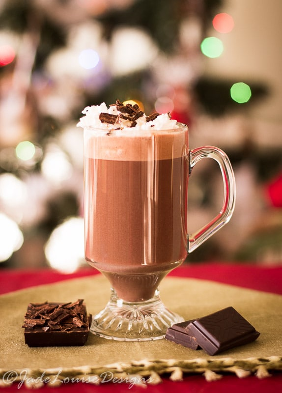 Belgian Hot Chocolate Recipe; Best Homemade Hot Chocolate Recipe.