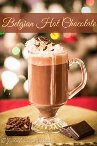 Belgian Hot Chocolate Recipe; Best Homemade Hot Chocolate Recipe.