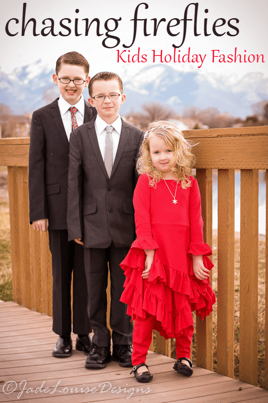 Chasing Fireflies All Dressed Up Kids Christmas Fashion