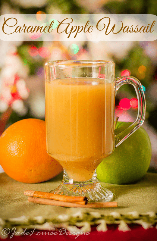 Curl up with a delicious Caramel Apple Wassail Recipe that is family friendly, alcohol-free and easy to make! The perfect blend of spices and Apple!