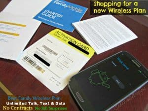 Discover an Affordable Walmart Family Mobile Plan with No contracts and unlimited service | #FamilyMobileSaves #cbias