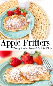 Apple Fritters Pancake Recipe Weight Watchers 3 Points Plus