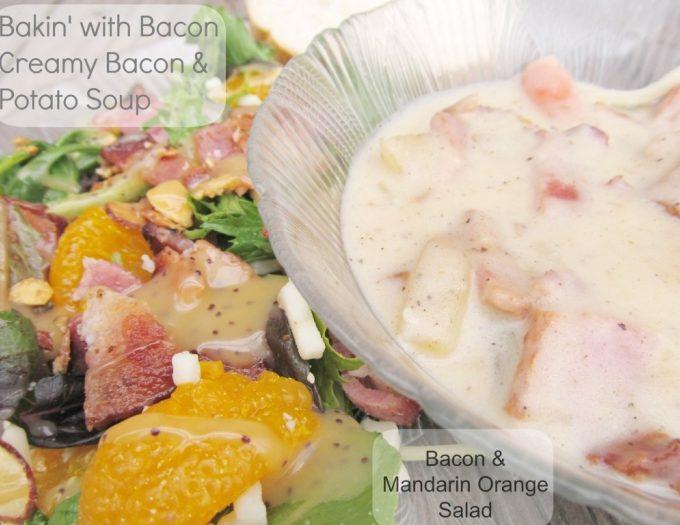 Baking with Bacon Creamy Bacon Potato Soup Recipe #MealsTogether