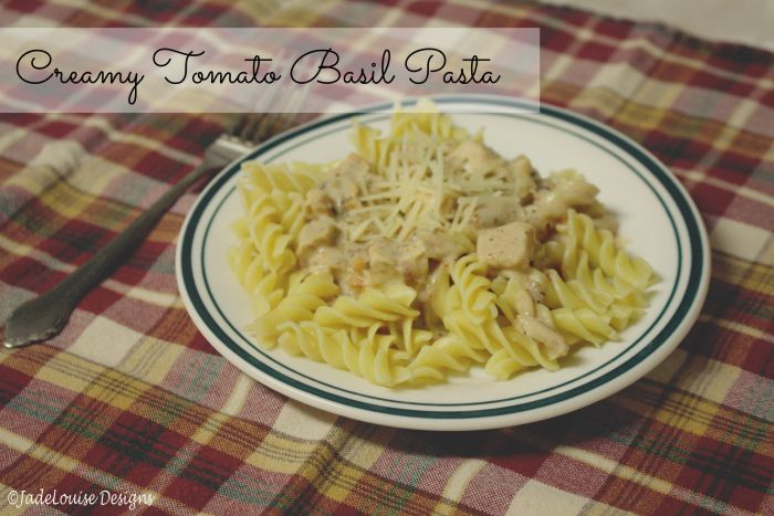 ... pasta with tomato basil easy tomato basil cream pasta recipe dishmaps