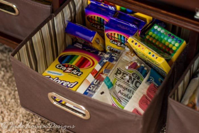 DIY Homework Station ideas, A centralized location for all School work