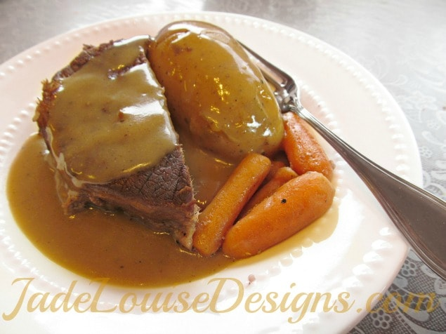 A Frazzled Mom's Quick and Easy Oven Pot Roast