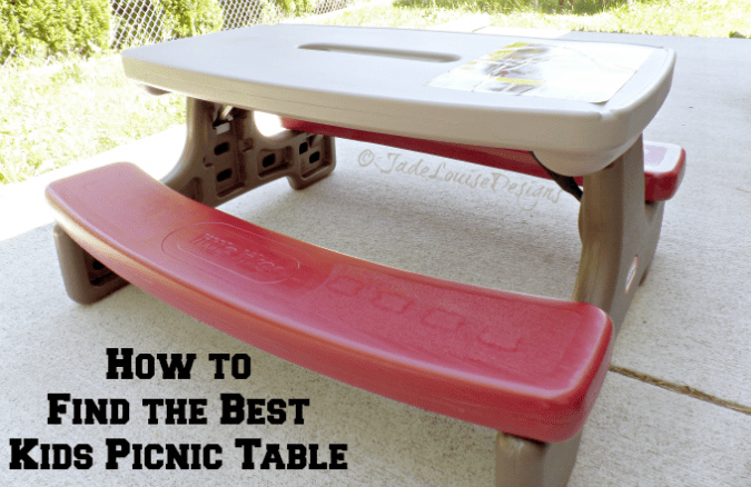 Why I love Little Tikes Kids Picnic Tables. Finding the best Kids picnic table for your family.