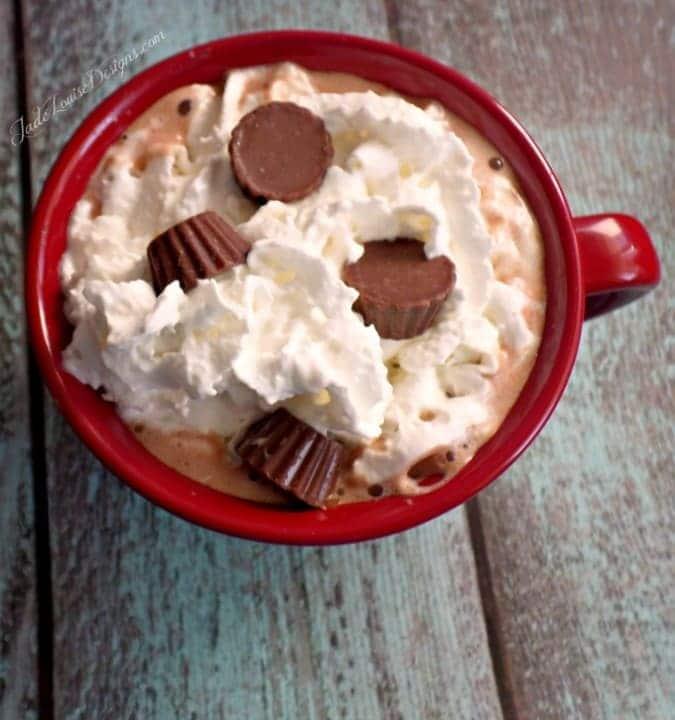 Hot Chocolate Recipe: Peanut Butter Cup Hot Chocolate