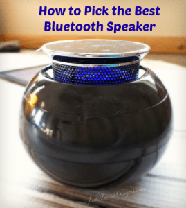 How to Pick the Perfect Portable Bluetooth Speaker Tego Audio CERA