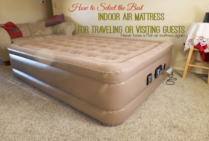 How to Pick the Best Indoor Air Mattress | Insta-Bed Never Flat Air Mattress for Indoor use