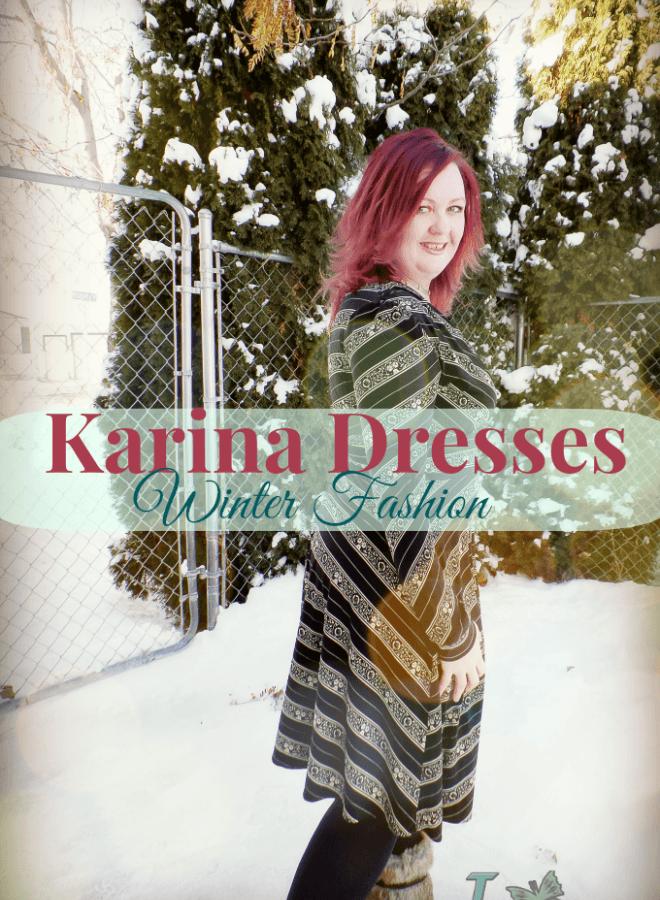 Winter Fashion Megan Long Sleeve Karina Dresses Fashion; #OOTD #Dresstacular Event
