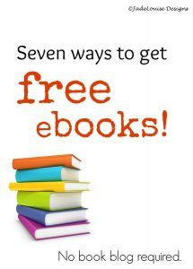 Seven ways to get free ebooks
