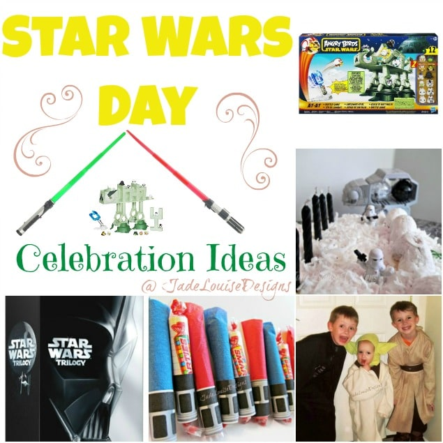 Star Wars Day Celebration Ideas featuring Angry Birds Star Wars AT-AT Attack Battle Game