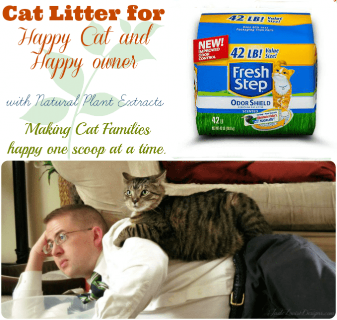 Cat Litter to make Cat and Owner happy + Cat Bearding #ClubFreshStep