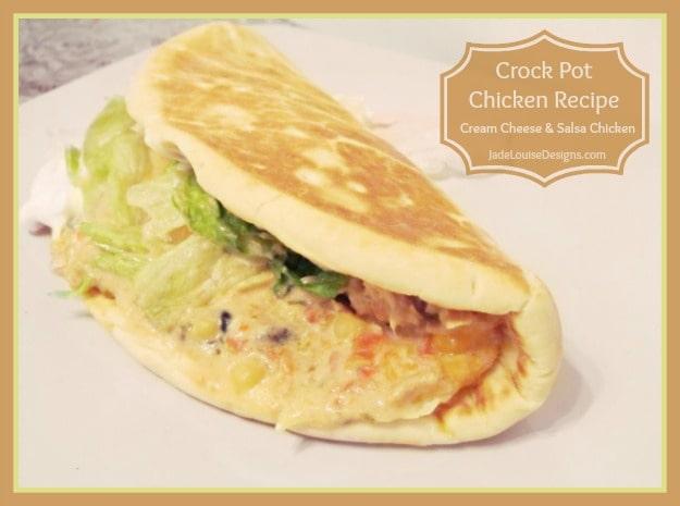 Crock Pot Chicken recipe: Cream Cheese and Salsa Chicken