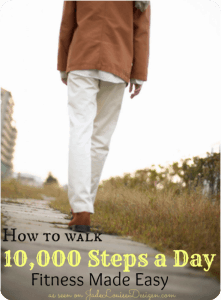 How to walk 10000 Steps a Day! Fitness made easy with Fitbit One. #FitbitOne