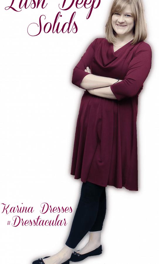 Stunning Solid prints Clara Karina Dresses #OOTD #Dresstacular